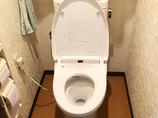 トイレリフォームお掃除がしやすい節水トイレに短時間でリフォーム